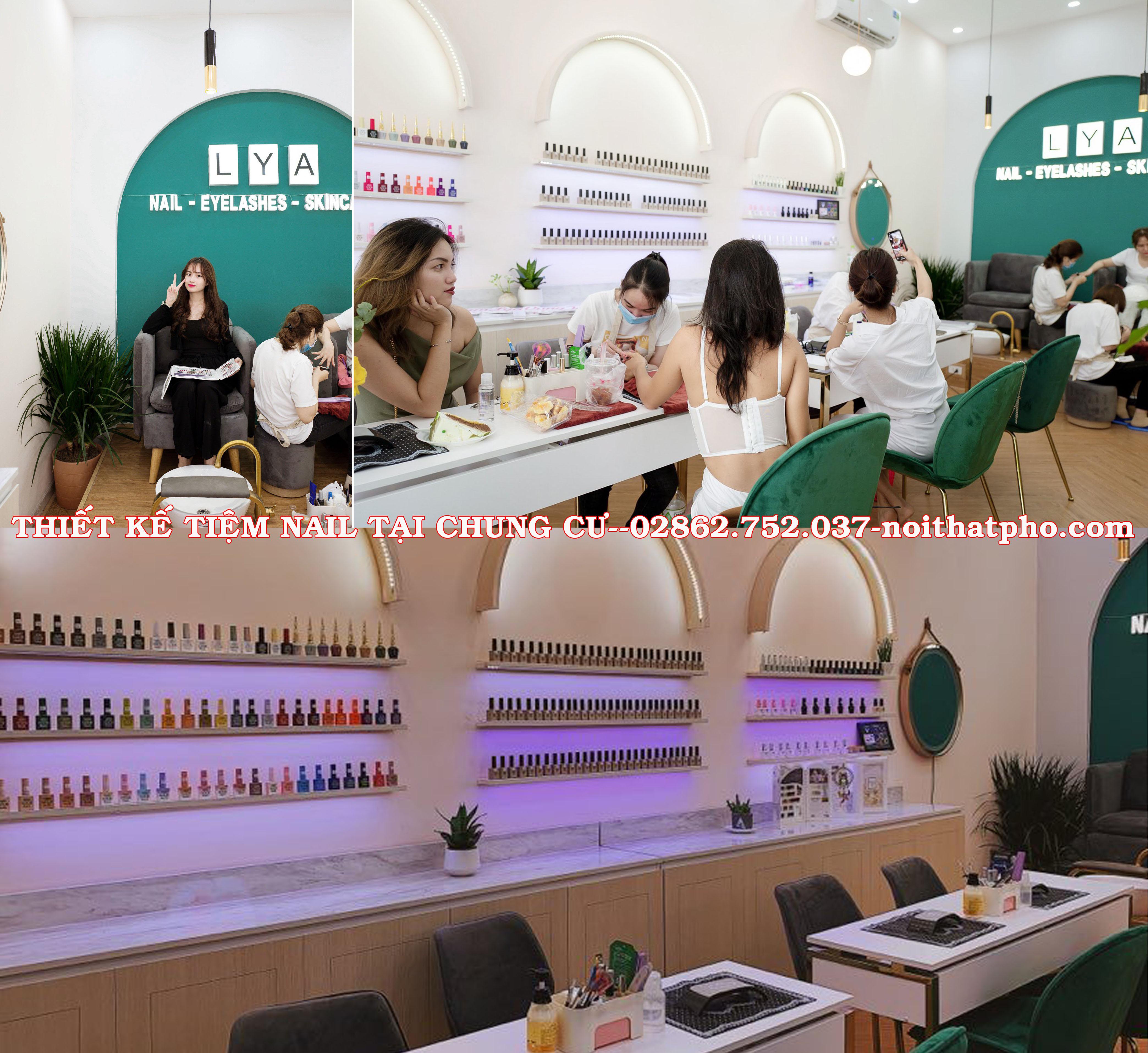 Tư vấn đầu tư Tiệm Nail tại Chung Cư, Siêu thị, Tòa nhà, Trung Tâm thương mại