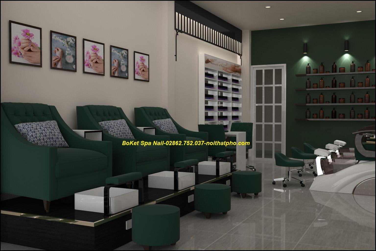 THIẾT KẾ TIỆM  NAILS-SALON  NAIL-STAY HOUSE CHUẨN TỪNG ĐƯỜNG NÉT (2)